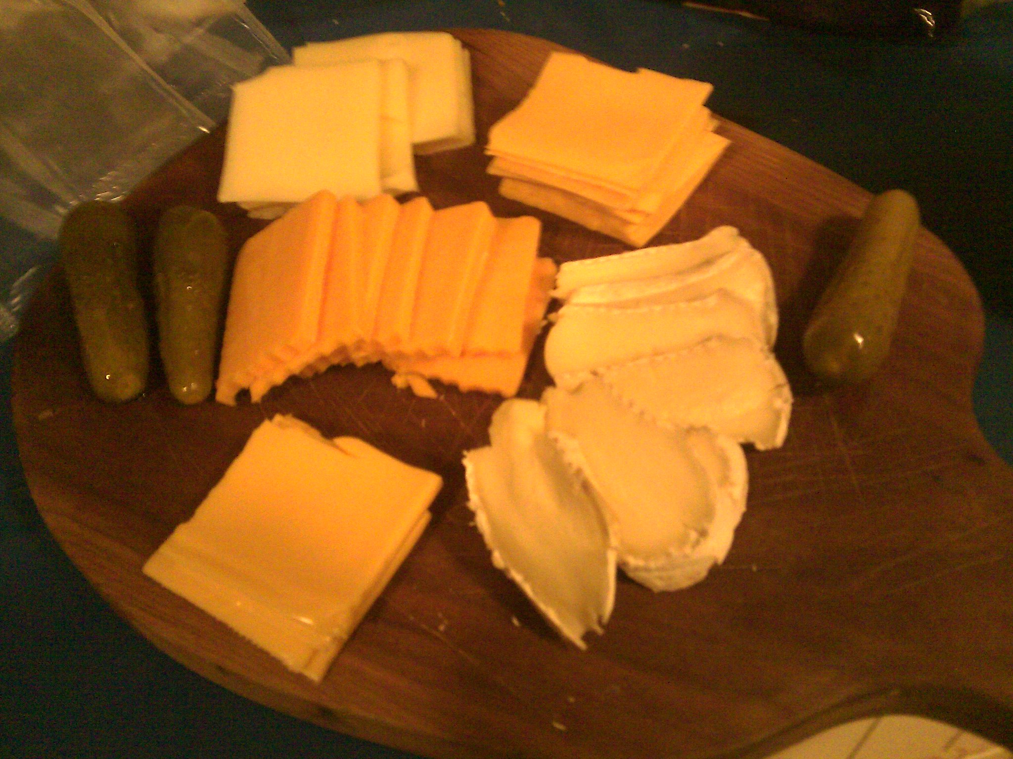 cheese-centric board