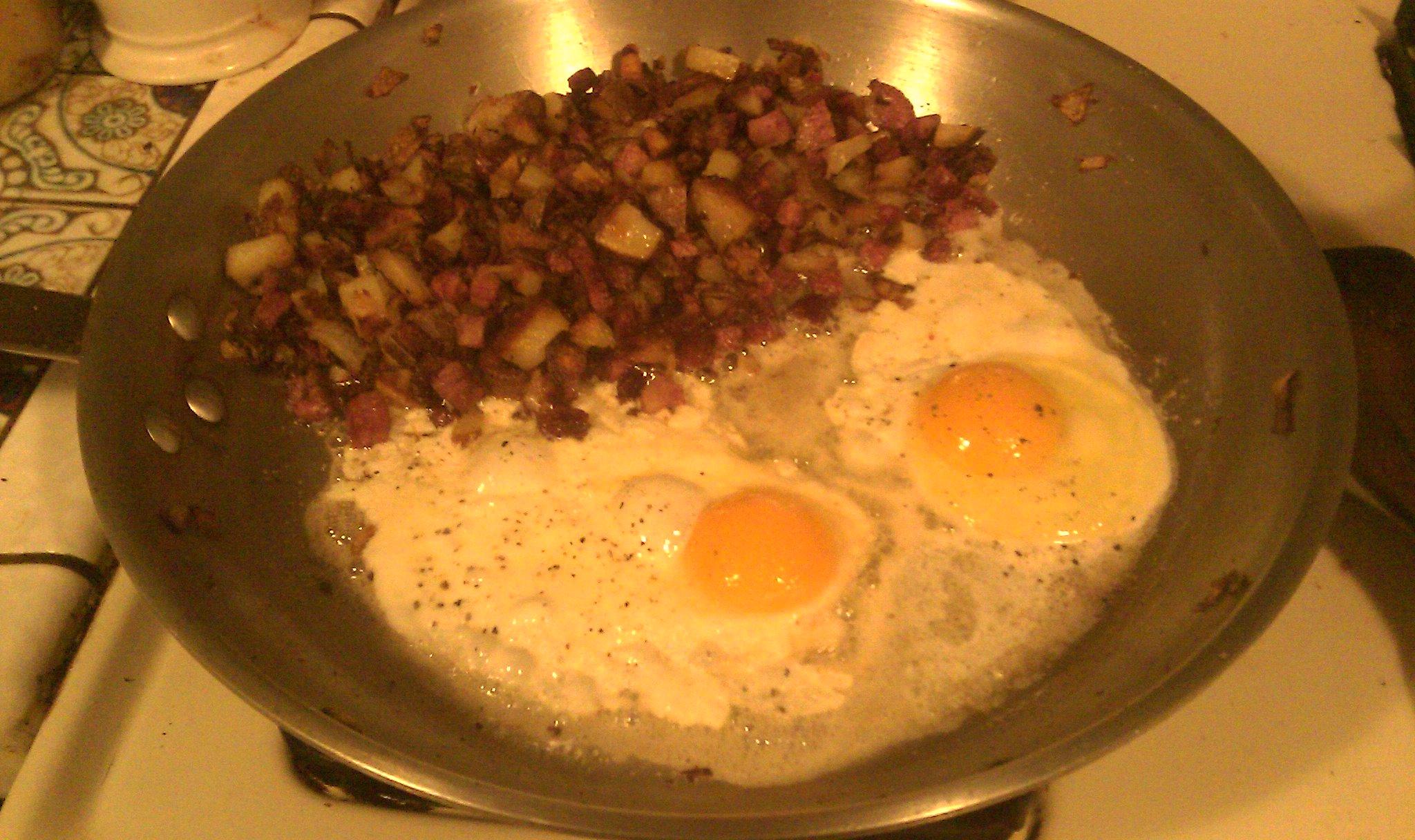 hash 'n' eggs