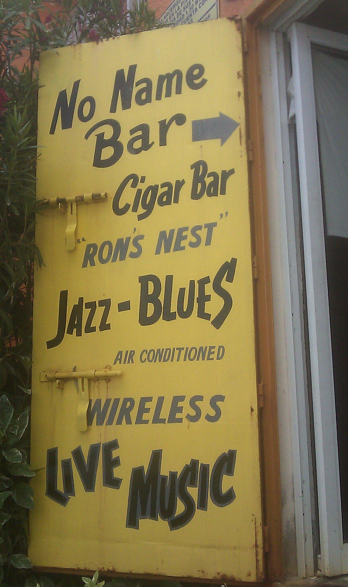 No Name Bar