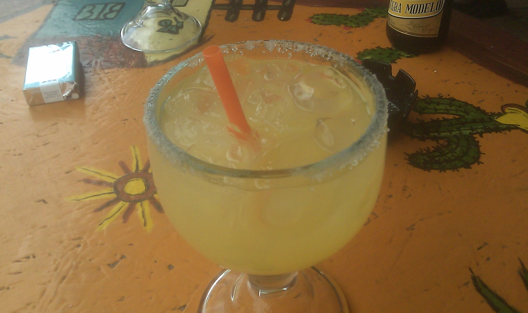 seriously good margarita
