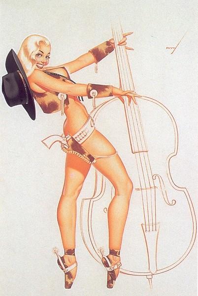 Awesome bass-playing Petty girl