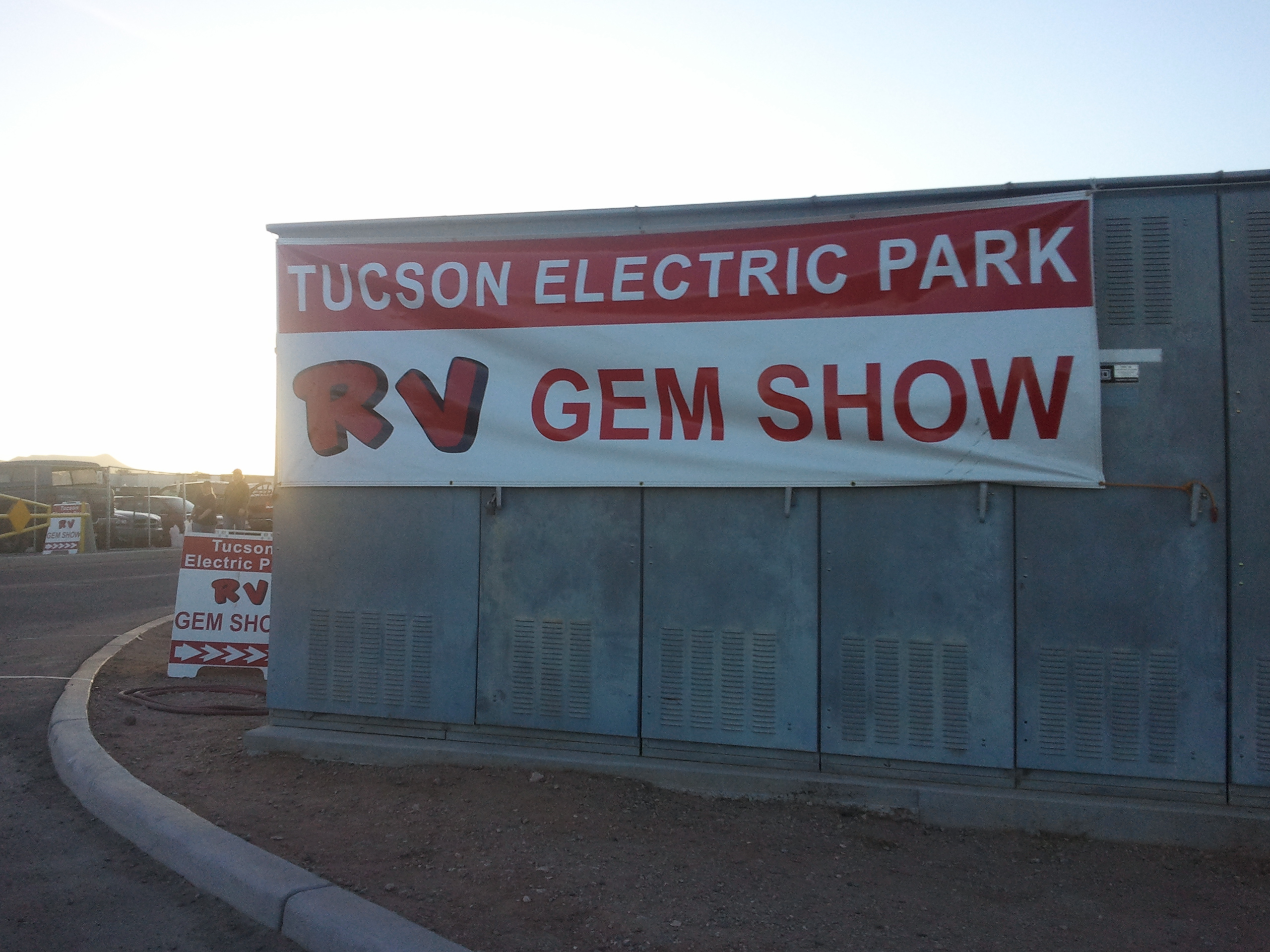 """I'm not sure what makes it an """"RV"""" gem show"""
