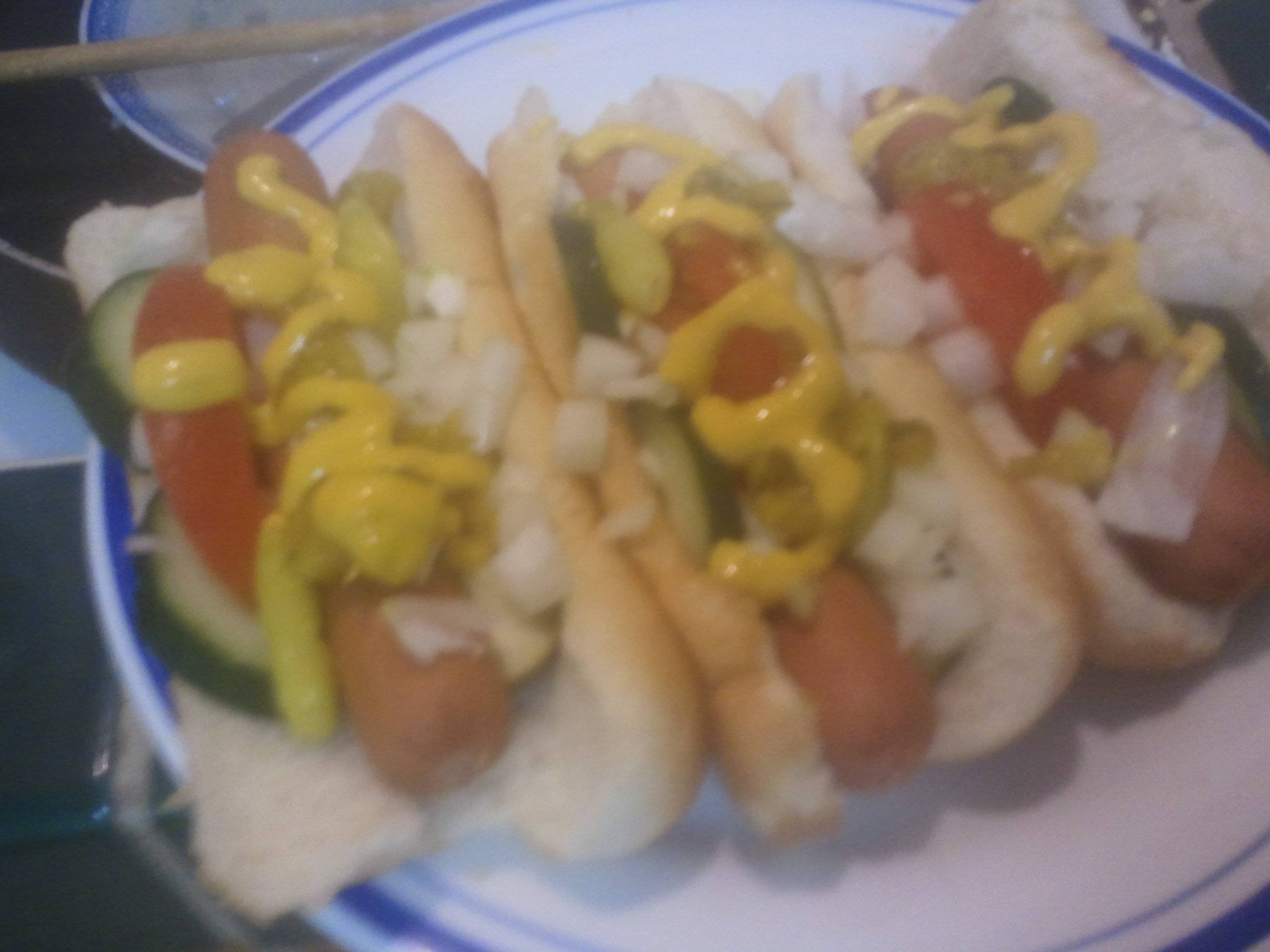 Mess o' Chicago dogs