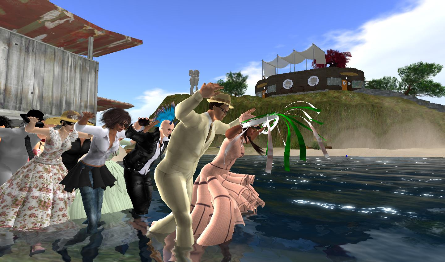 A Sunday in Second Life