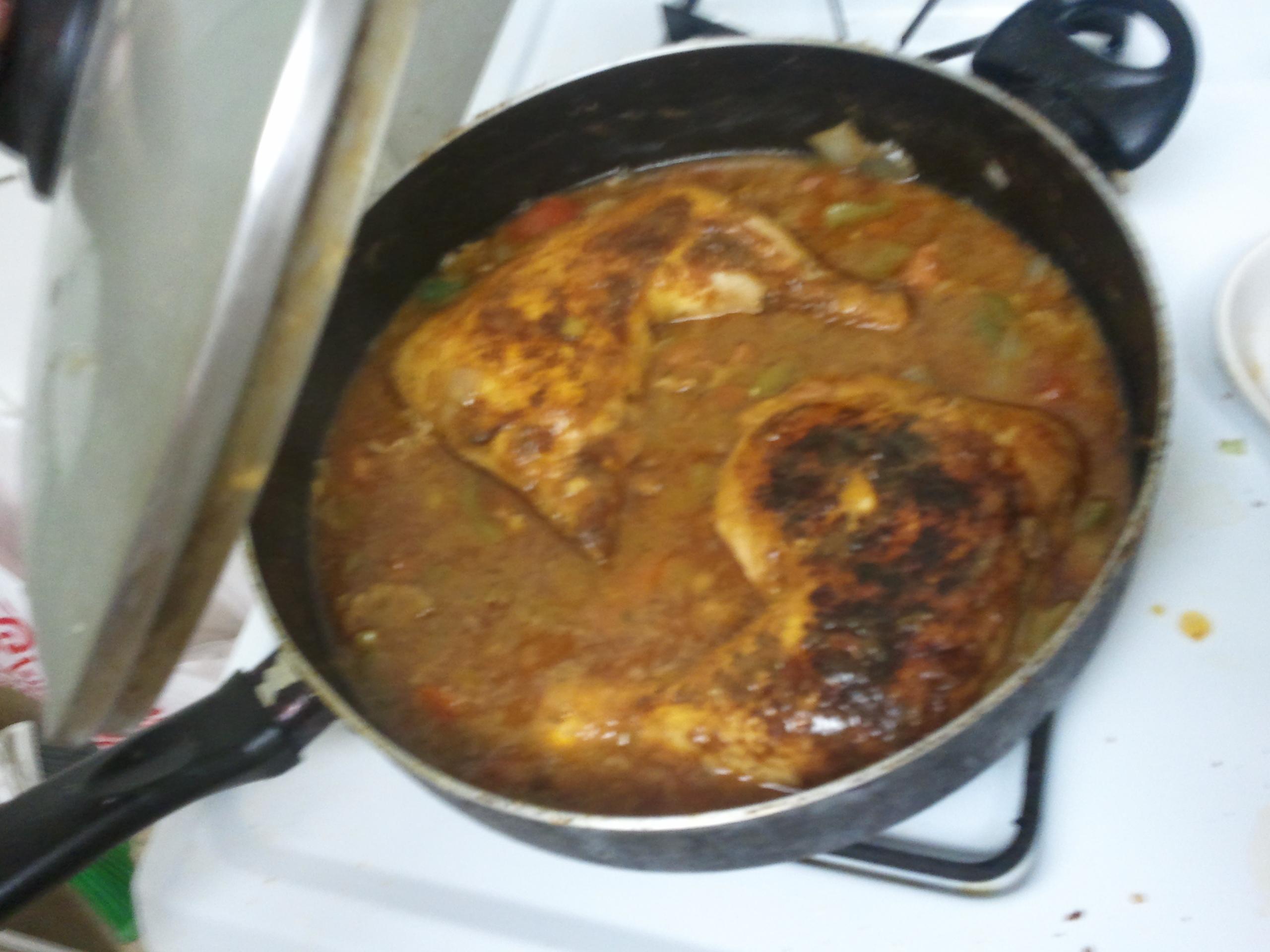 Chicken etoufee