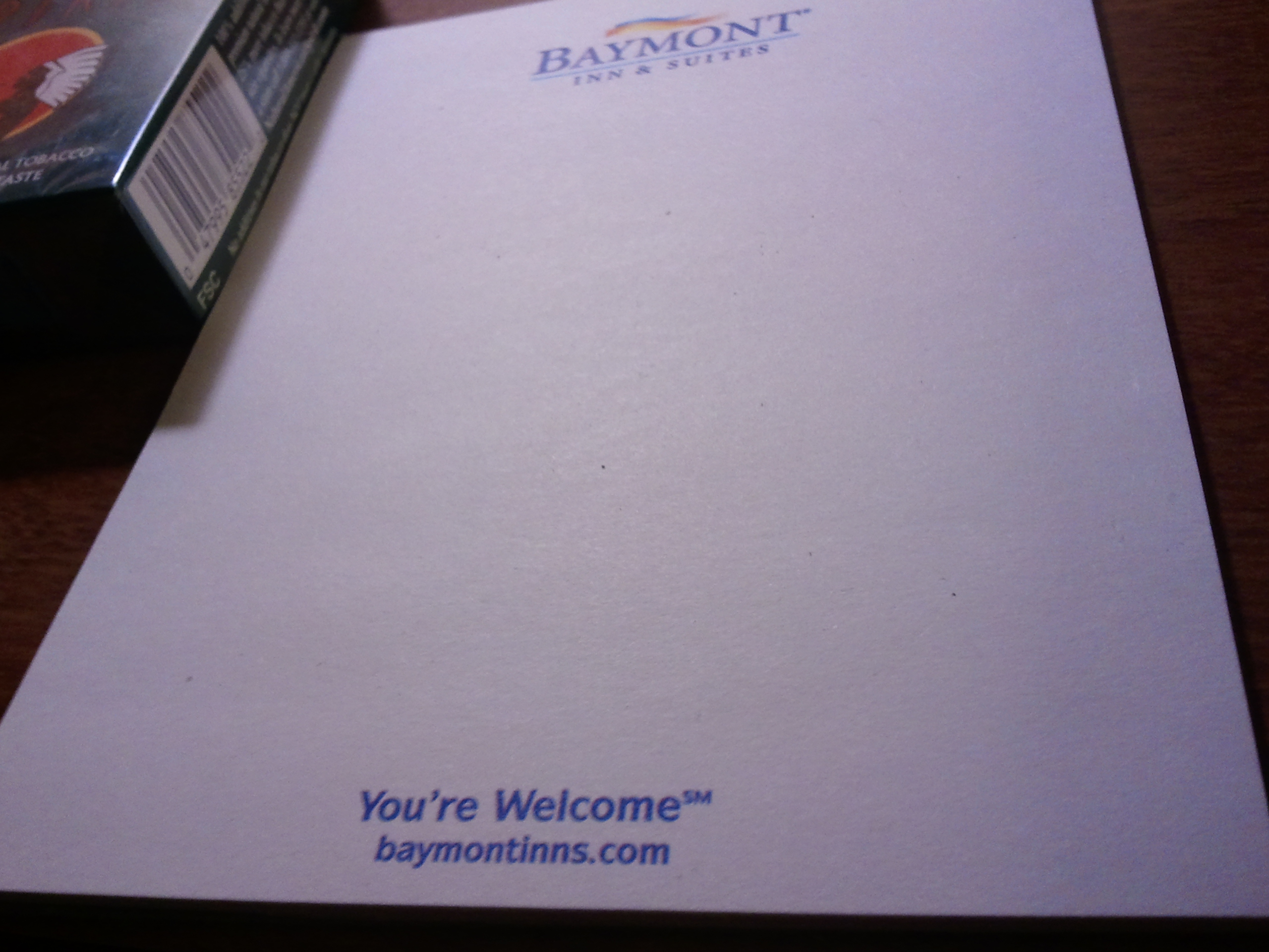 The presumptuous Baymont Inn