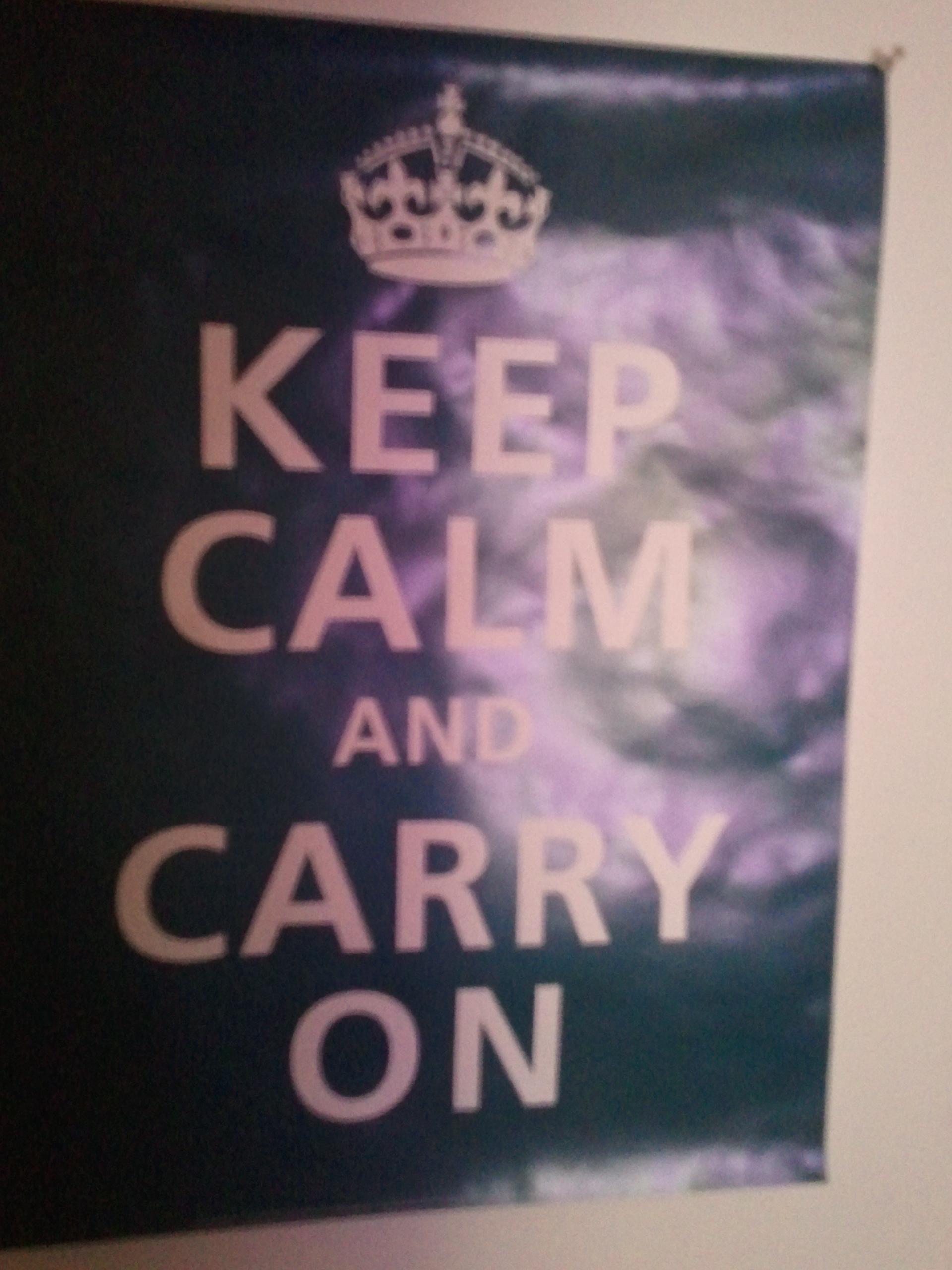 I AM CALM!!
