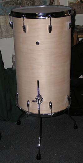 fully assembled cocktail drum