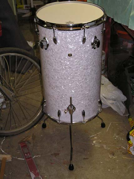 finished cocktail drum
