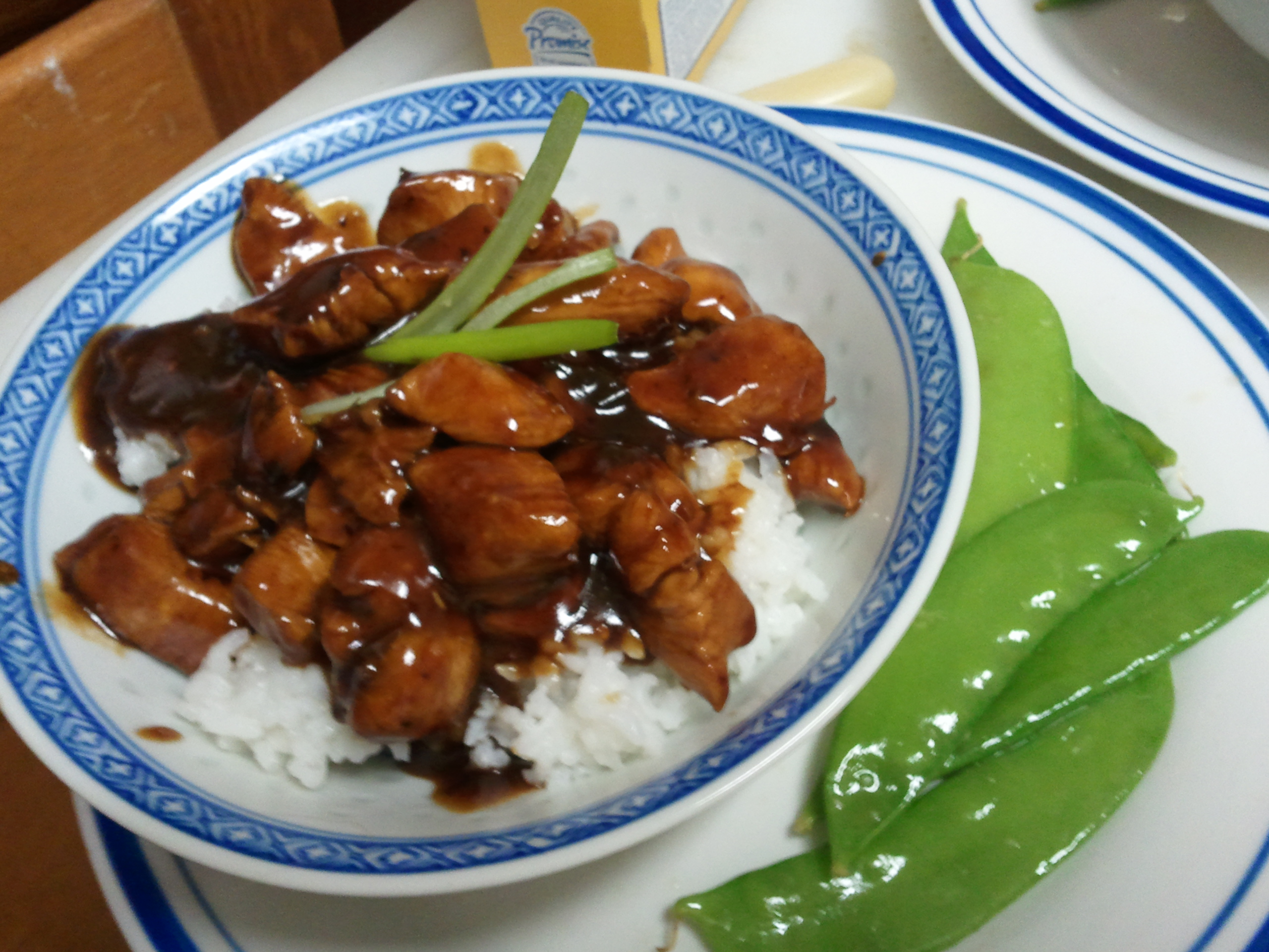 fine-lookin' Chinese meal
