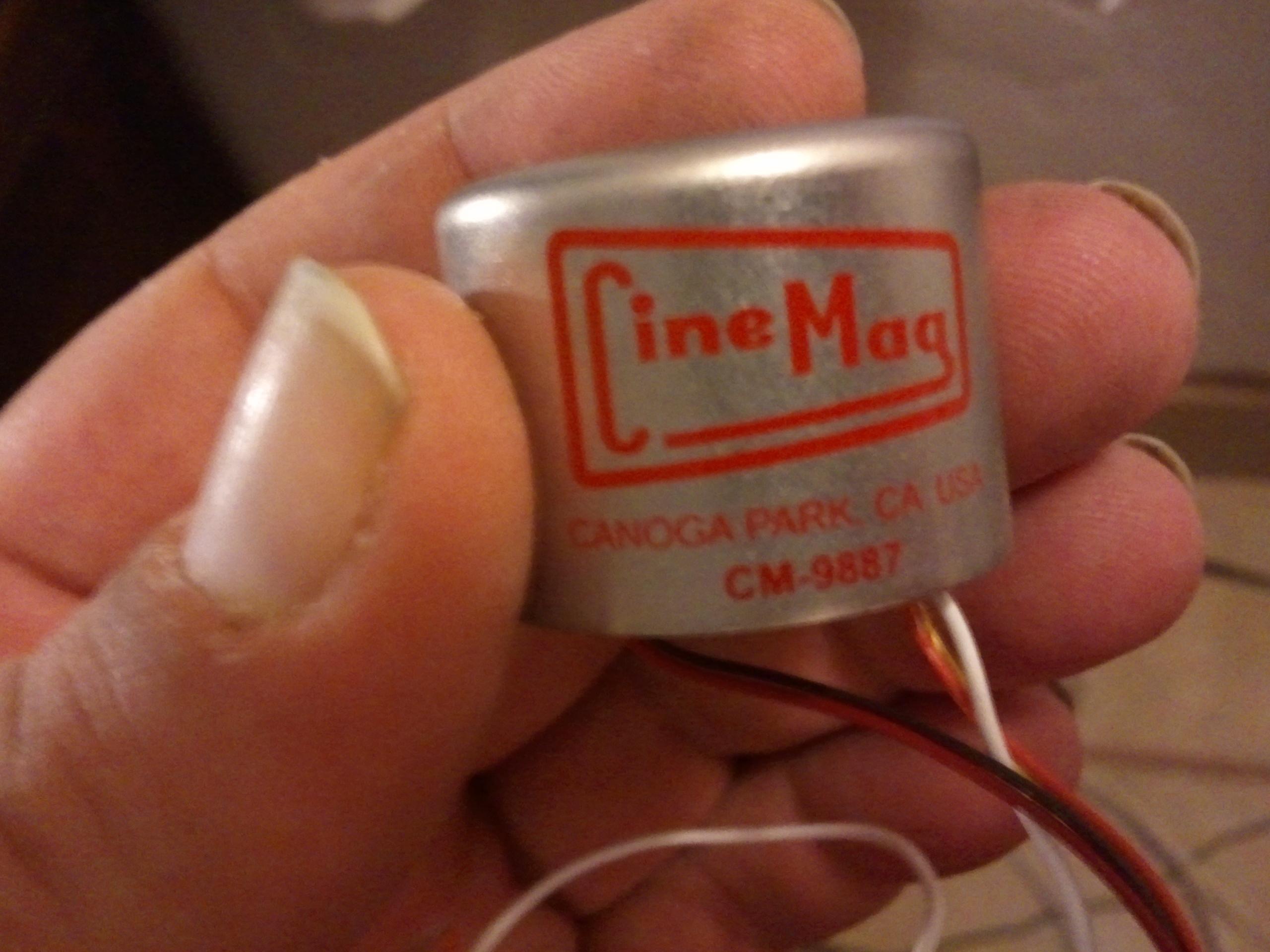 CineMag ribbon mic transformer