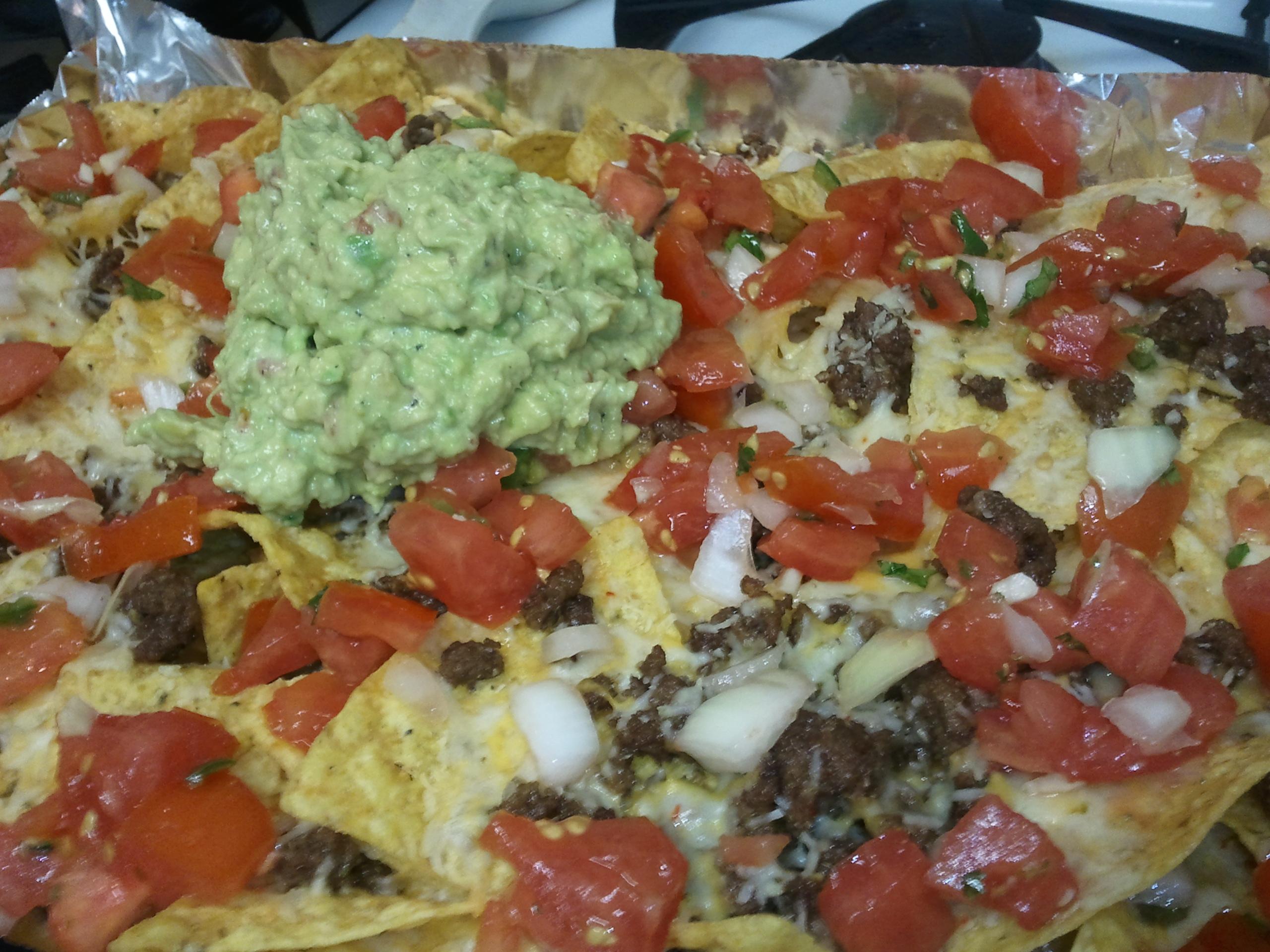 Kickass nachos