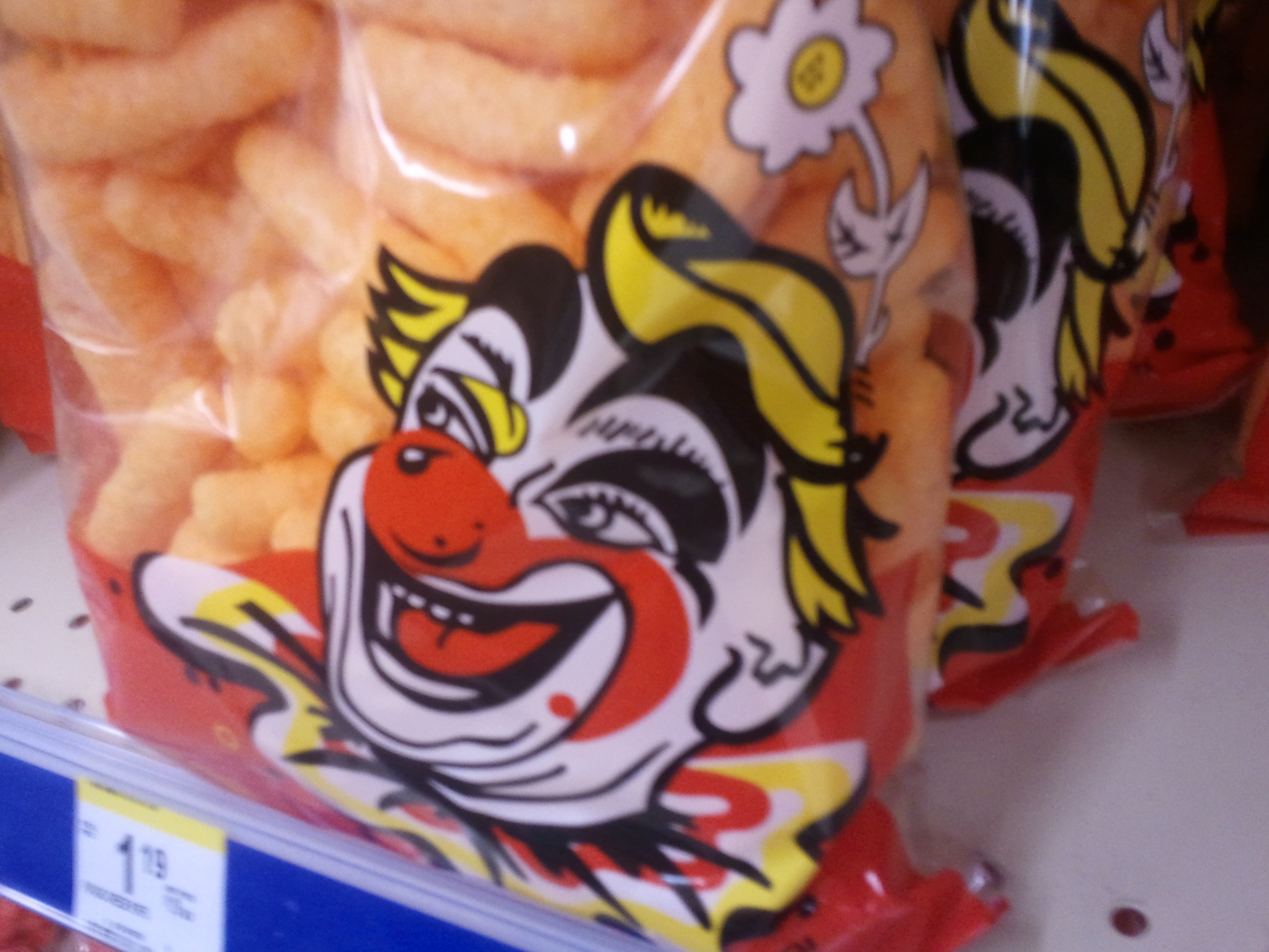 Evil, EVIL cheesy poofs