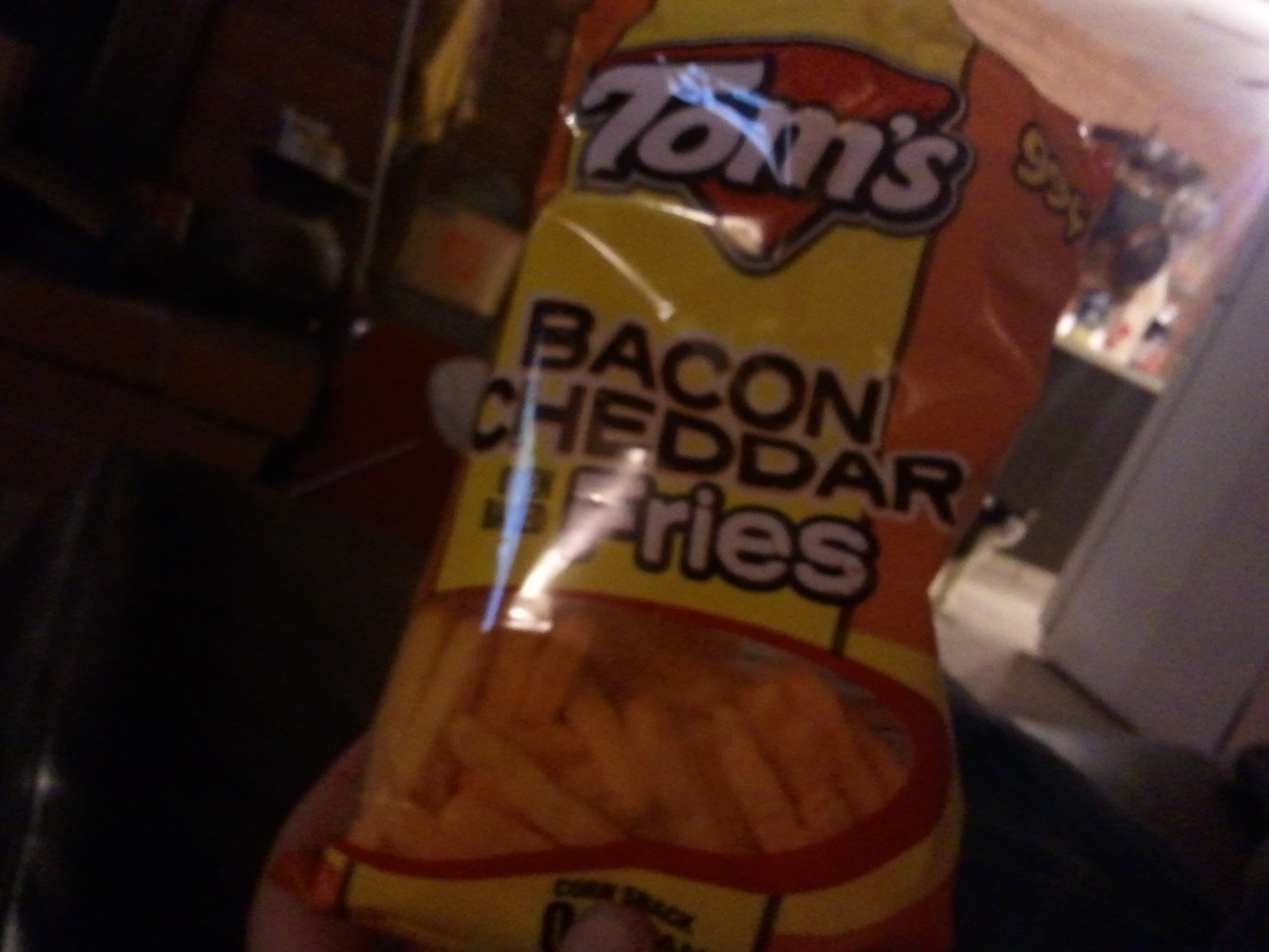Tom's bacon cheddar fries