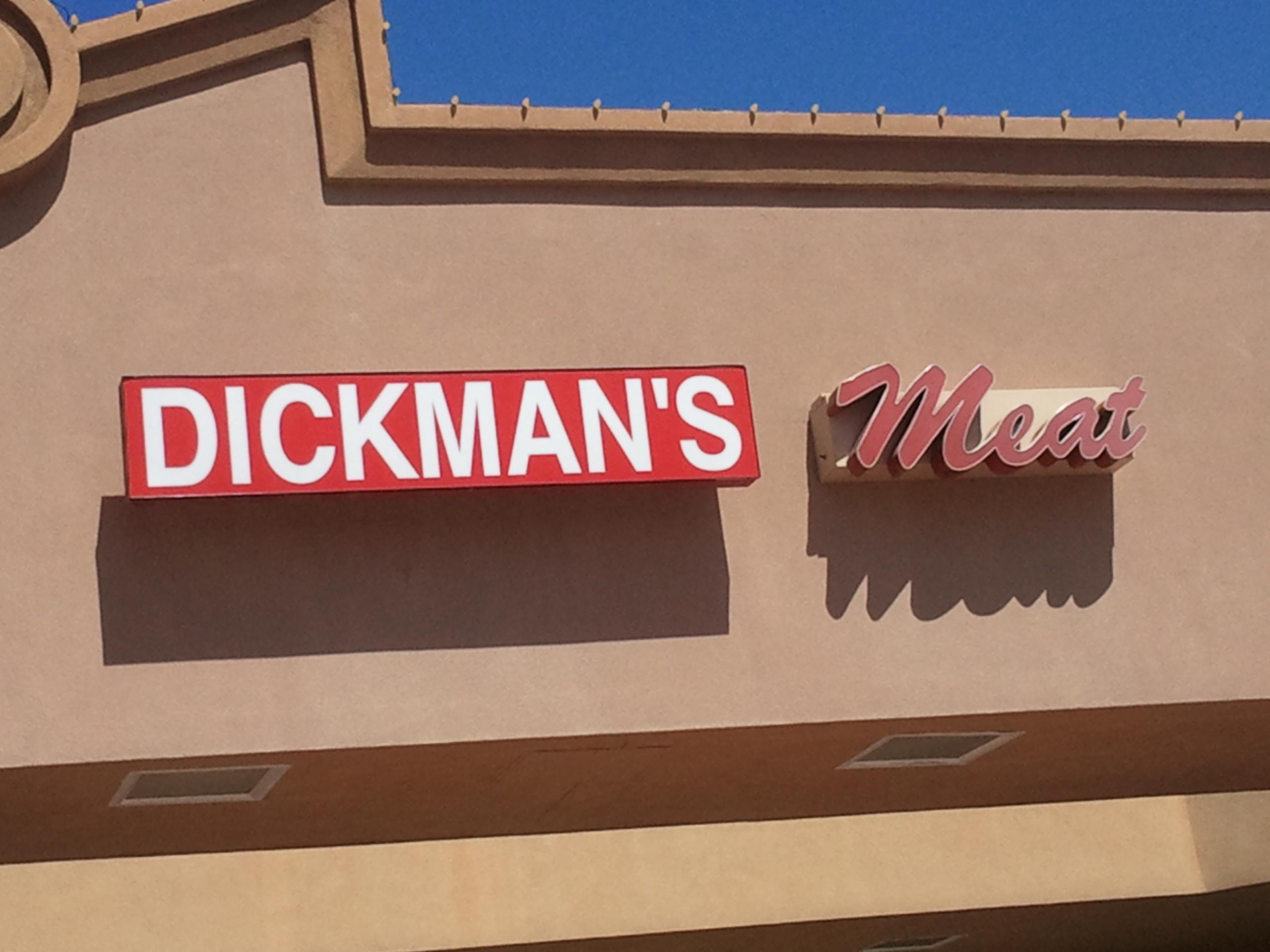 DICKMAN'S Meat