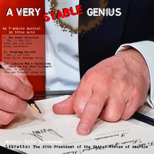A Very Stable Genius albums cover