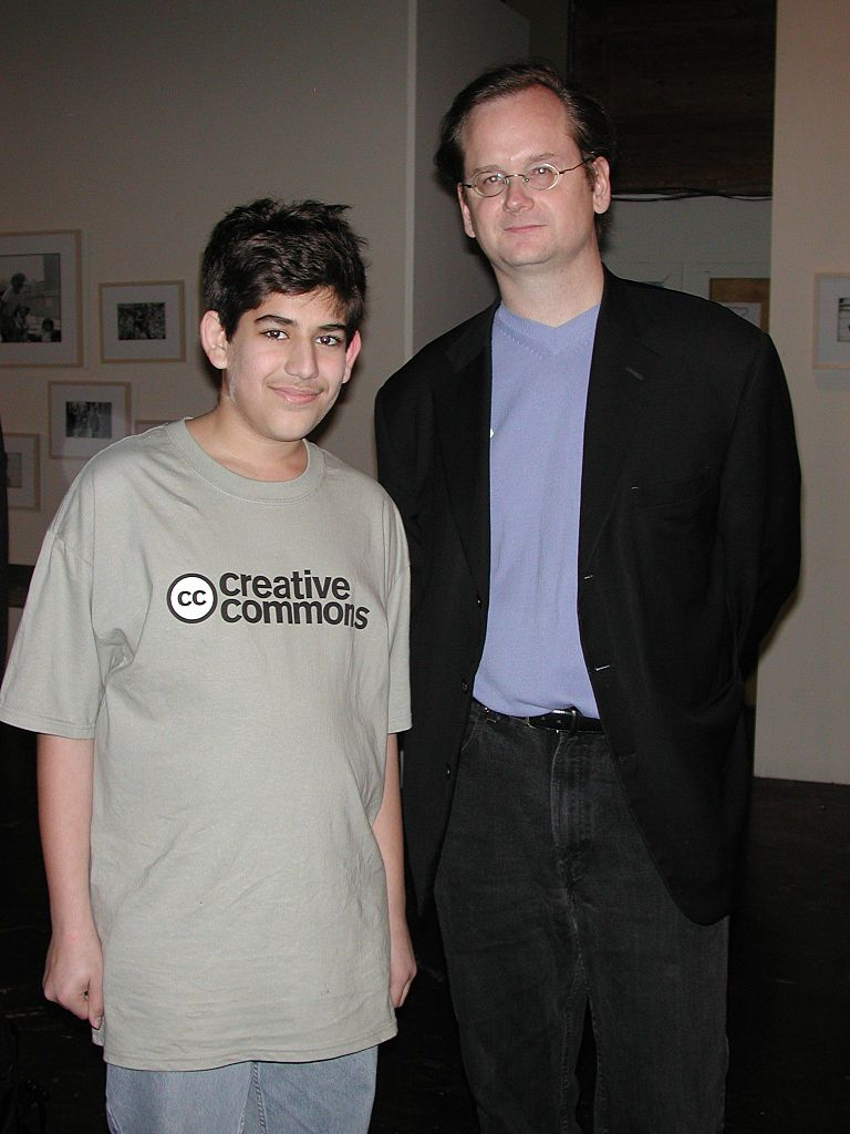 Aaron Swarts and Lawrence Lessig